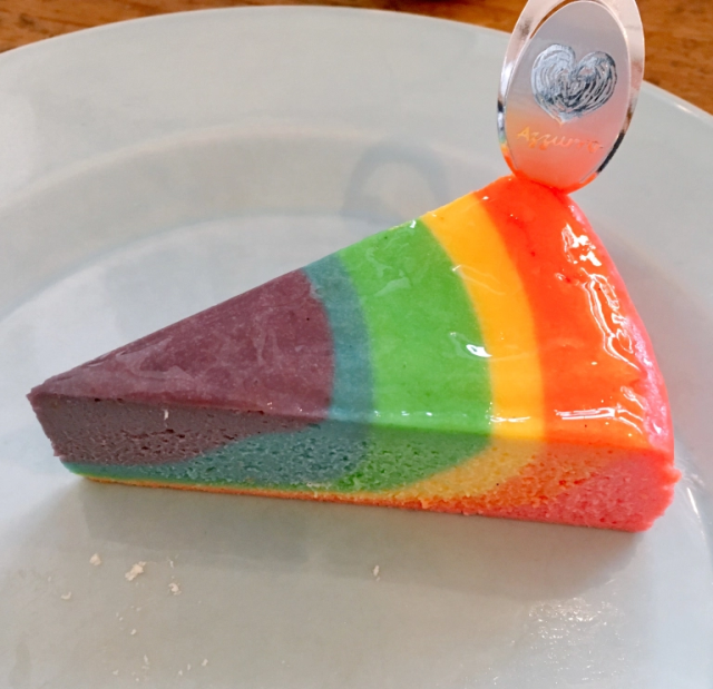 Tokyo cafe's rainbow cheesecake is only the beginning of its crazily awesome dessert lineup
