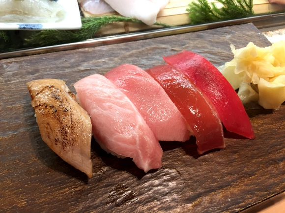Japanese diners pick their eight favorite types of sushi, create mouthwatering dinner blueprint