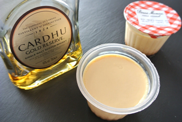 Adding hard liquor to Japanese pudding makes it an inner-child pleasing treat just for adults