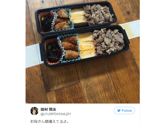 Brothers' bento blooper shows the potential downside of having your mom pack your lunch in Japan