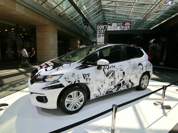 Honda Fit and Weekly Shonen Jump magazine create stunning Japanese itasha manga car【Pics】