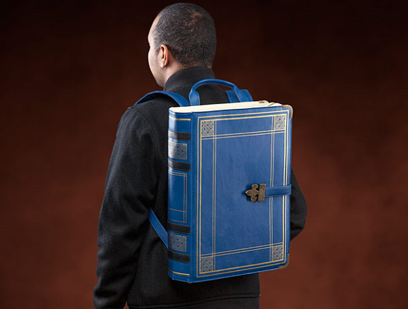 Grimoire backpack is a practical way to proclaim your love for magical fantasies