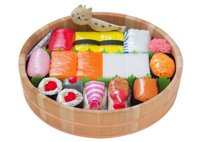 Diaper Sushi gets an upgrade, is still the best gift for moms-to-be
