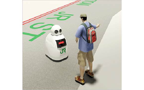 Japan Railways wants to build a team of robots to help travelers, catch criminals in its stations