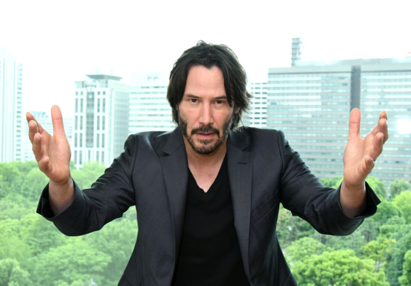 We sit down and make a fool of ourselves with Keanu Reeves in Japan