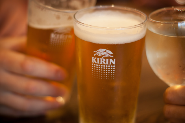 Kirin beer company toasts same-sex marriages for its employees
