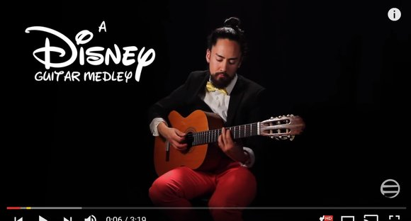 SamuraiGuitarist's Disney song medley will bring a smile to your face【Video】