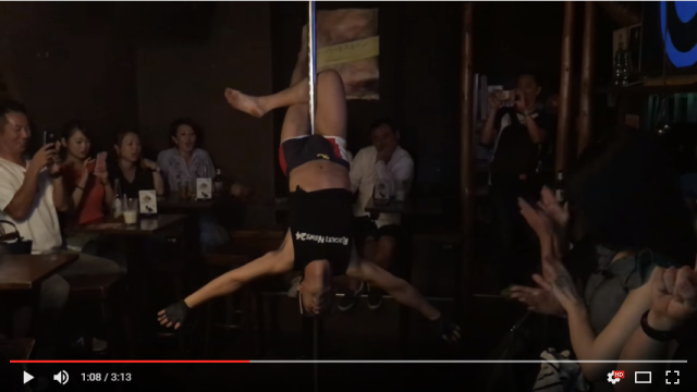 Mr. Sato makes his pole dancing performance debut after 8 months of serious workout 【Video】