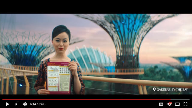 Singapore Airlines adds country's attractions to safety video so passengers actually watch【Video】