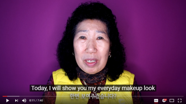 YouTube channel starring 71-year-old Korean grandma is a big hit 【Video】