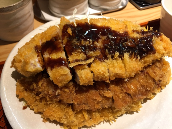 "Take on a triple-decker cutlet at Tokyo's hot new restaurant: ""Tonkatsu is a Drink"""