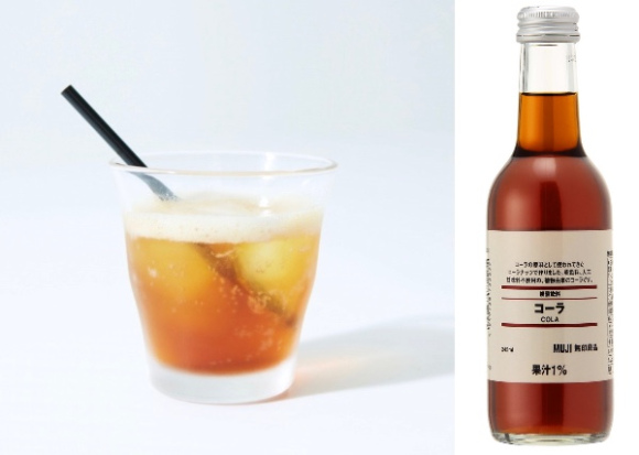 Muji creates Muji Cola with no added sugar and a unique taste