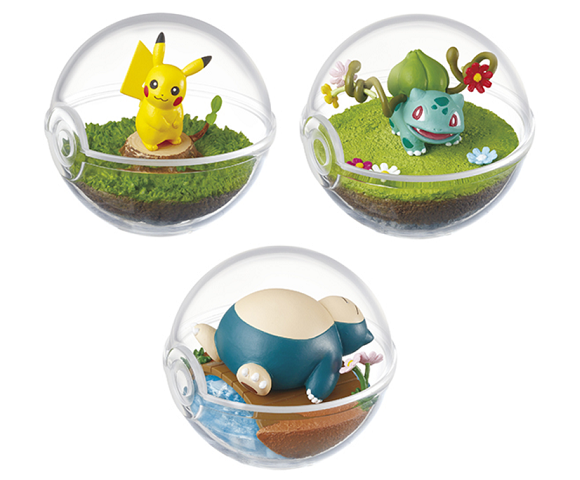 Pokémon terrariums let you feel like you've got Pikachu, Eevee, and other Pocket Monsters as pets