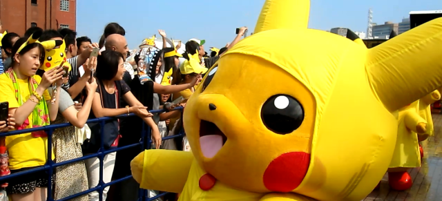Pikachu Outbreak event causes growing pains for Yokohama