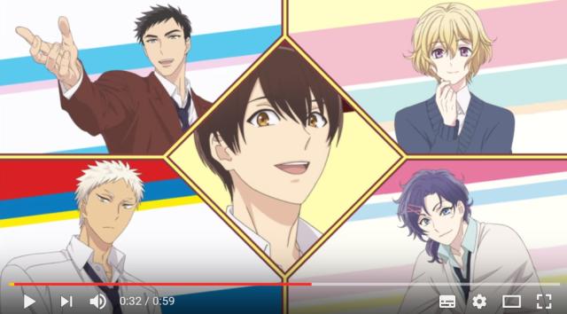 Cute boys chasing each other, crying in the rain showcased in Sanrio Boys anime preview【Video】