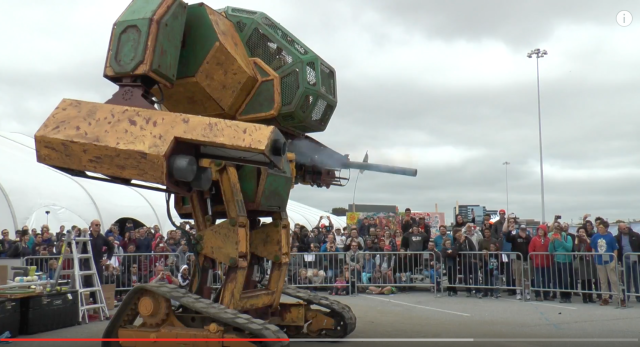 Japan vs. USA giant robot duel scheduled this month 【Video】
