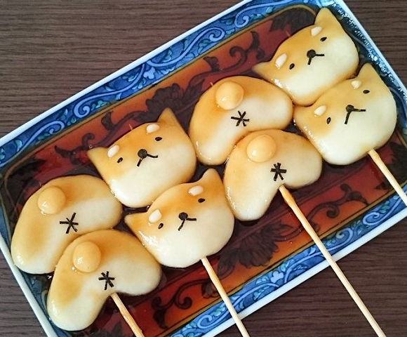 Adorable, edible dog buttholes are part of this new take on traditional Japanese sweets