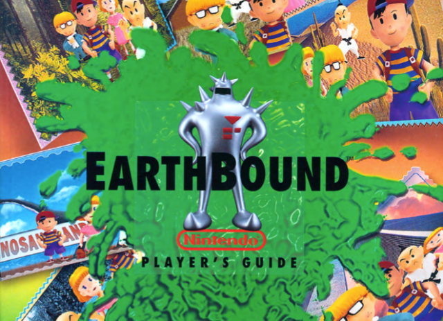 Nintendo releases official, free online PDF of EarthBound player's guide for anyone to read