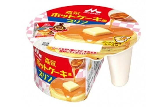 Japan creates pancake pudding, simultaneously hits two comfort food bullseyes