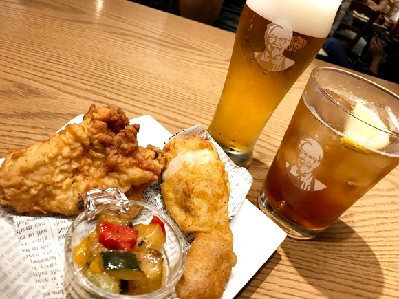 Kentucky Fried Chicken has all-you-can-drink beer in Tokyo for less than 10 bucks