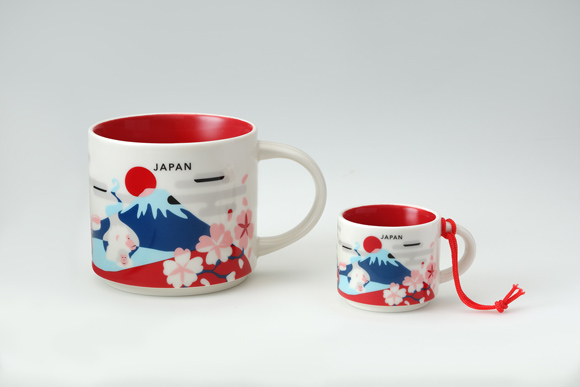 Starbucks You Are Here Collection expands to Japan with beautiful Mt. Fuji mugs