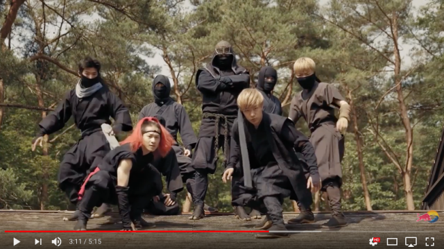 Japanese ninja, samurai and courtesans star in new Red Bull ad set in the Edo period 【Video】