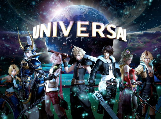 Universal Studios Japan's new Final Fantasy attraction is a VR roller coaster