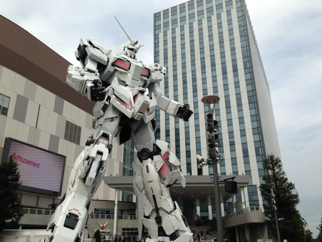 Tokyo's new giant Gundam anime robot statue is complete, and it's awesome【Photos】