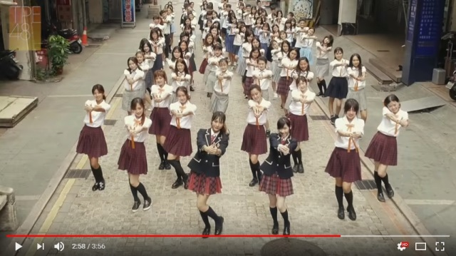 "TPE48 recruiting new members, gets 21 schools to participate in ""Koi Suru Fortune Cookie"" video"