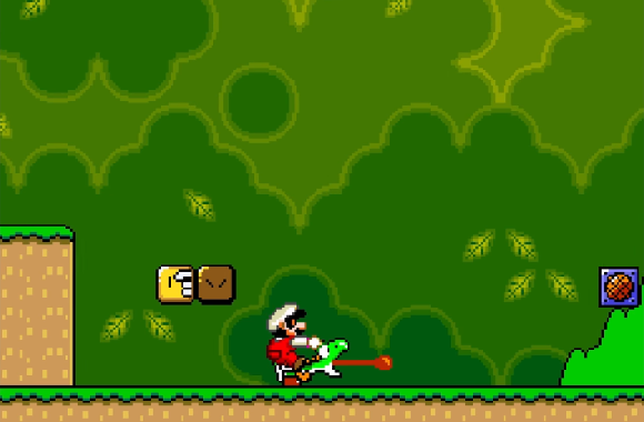 Nintendo confirms that yes, Mario is punching Yoshi in the back of the head in Super Mario World