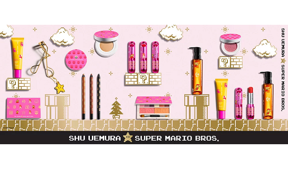 Princess Peach approves new Super Mario beauty products