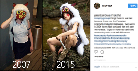 Cosplayers around the world reveal inspiring cosplay evolutions online 【Photos】