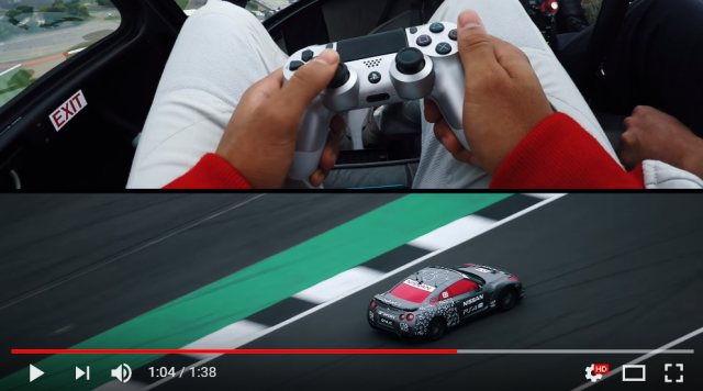 You can drive this car with a PlayStation controller, meaning Gran Turismo is now real【Video】