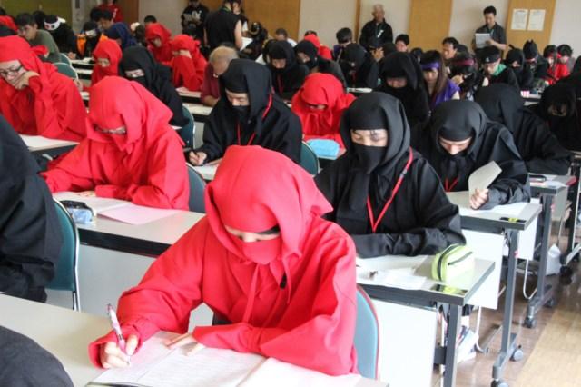 Japanese ninja proficiency test to be held in Tokyo