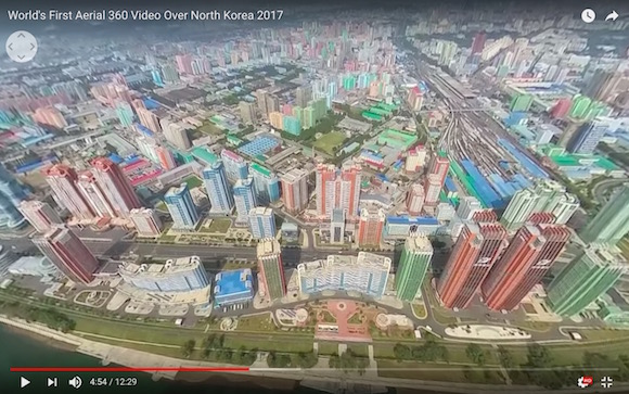 360-video of Pyongyang shows a surprisingly beautiful side of North Korea【Video】