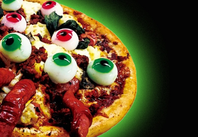 Horror pizza lives! The Bloody Zombino returns to Aoki's Pizza