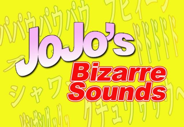 Online poll ranks JoJo's Bizarre Adventures most bizarre sound effects