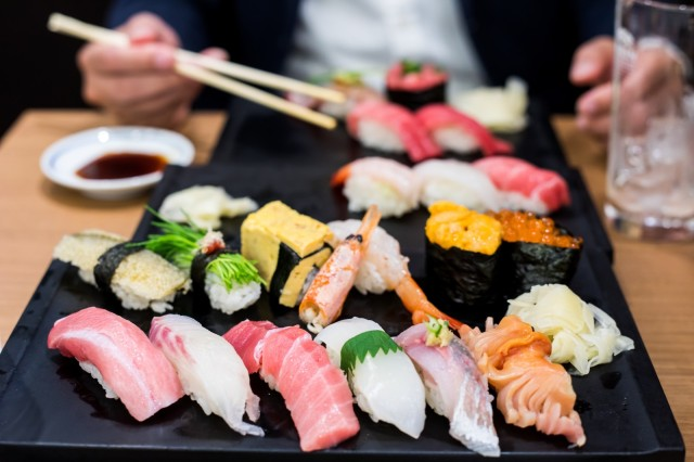 Esteemed Japanese sushi chain ranks the top 15 most popular sushi toppings among customers