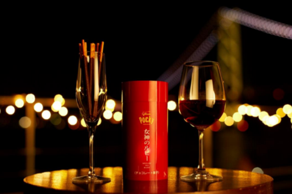 Pocky gets elegantly mature with new flavor designed to be paired with red wine