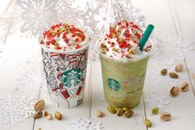 Starbucks Japan announces its second round of festive holiday drinks, coming soon