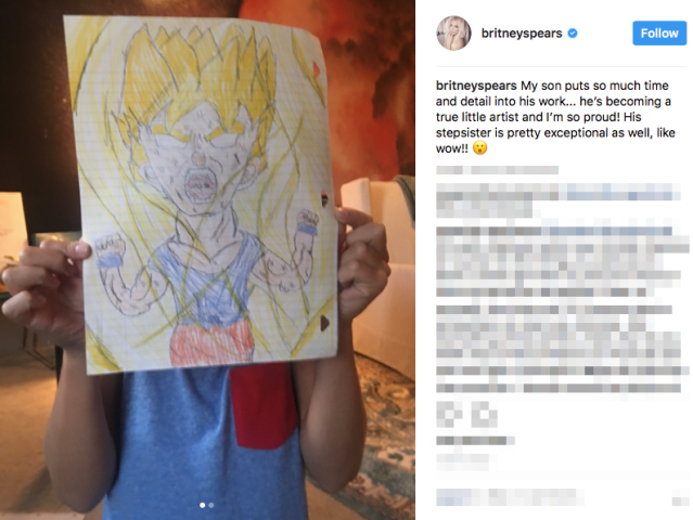 Japanese netizens get into a debate over Britney Spears' kids' anime art