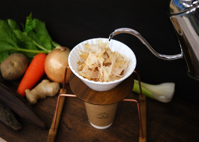 Move over coffee! Japan's first ever pour-over drip-dashi is a healthier, tastier option