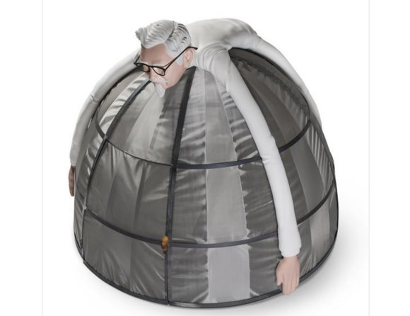 Protect yourself from that dastardly Internet with a KFC Internet Escape Pod