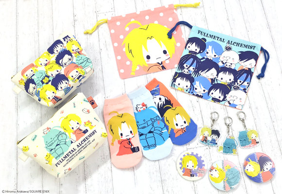 Alloy-ha! Sanrio & Fullmetal Alchemist collaboration results in wonderfully cute character goods