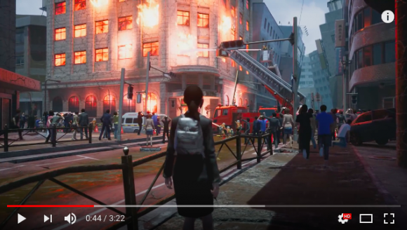 Disaster video game series resurrected with support from the Kobe Fire Department