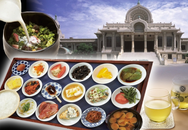 Tokyo's Tsukiji Hongan Temple opens a cafe, breakfast set has 16 side dishes!