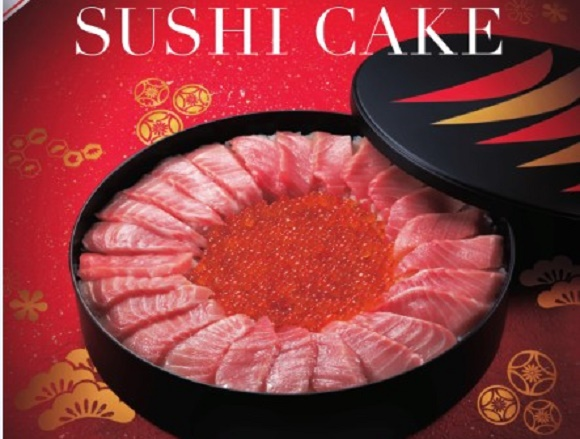 Sushi Cake is returning to Japan for the holidays