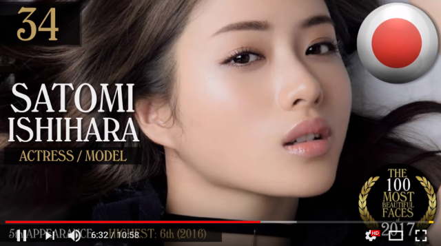 Four Japanese women chosen for world's 100 most beautiful faces, four men make handsome list