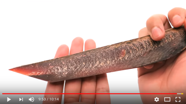 You can make a knife (yes, a knife) out of Japanese dried fish【Video】