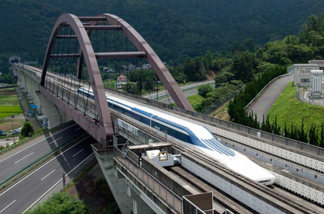 Here's your chance to ride Japan's maglev Shinkansen in spring, nine years before service starts